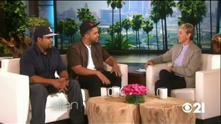Ice Cube & O Shea Jackson Interview Sept 09 2015