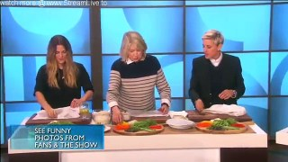 Martha Stewart Cooks With Drew Barrymore & Ellen Part 2 Nov 06 2015