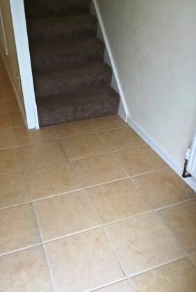Ceramic Tiled and Grout After Cleaning in Gloucester