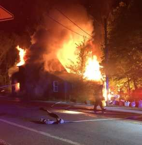 Gloucester Fire Department Extinguishes Two-Alarm House Fire