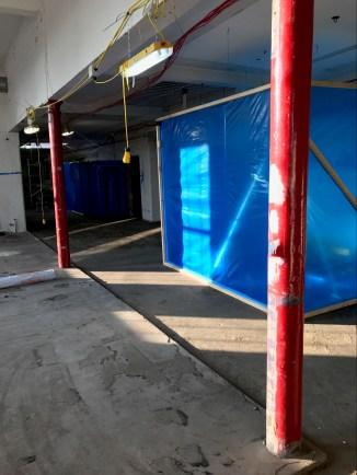 Preparation for asbestos removal