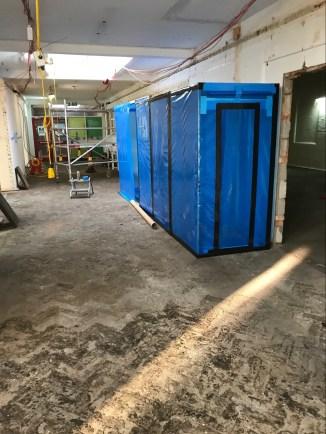 Tunnels forasbestos removal