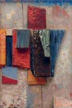 Kurt Schwitters 1943 Coloured wood construction Kurt and Ernst Hannover Foundation assemblage art