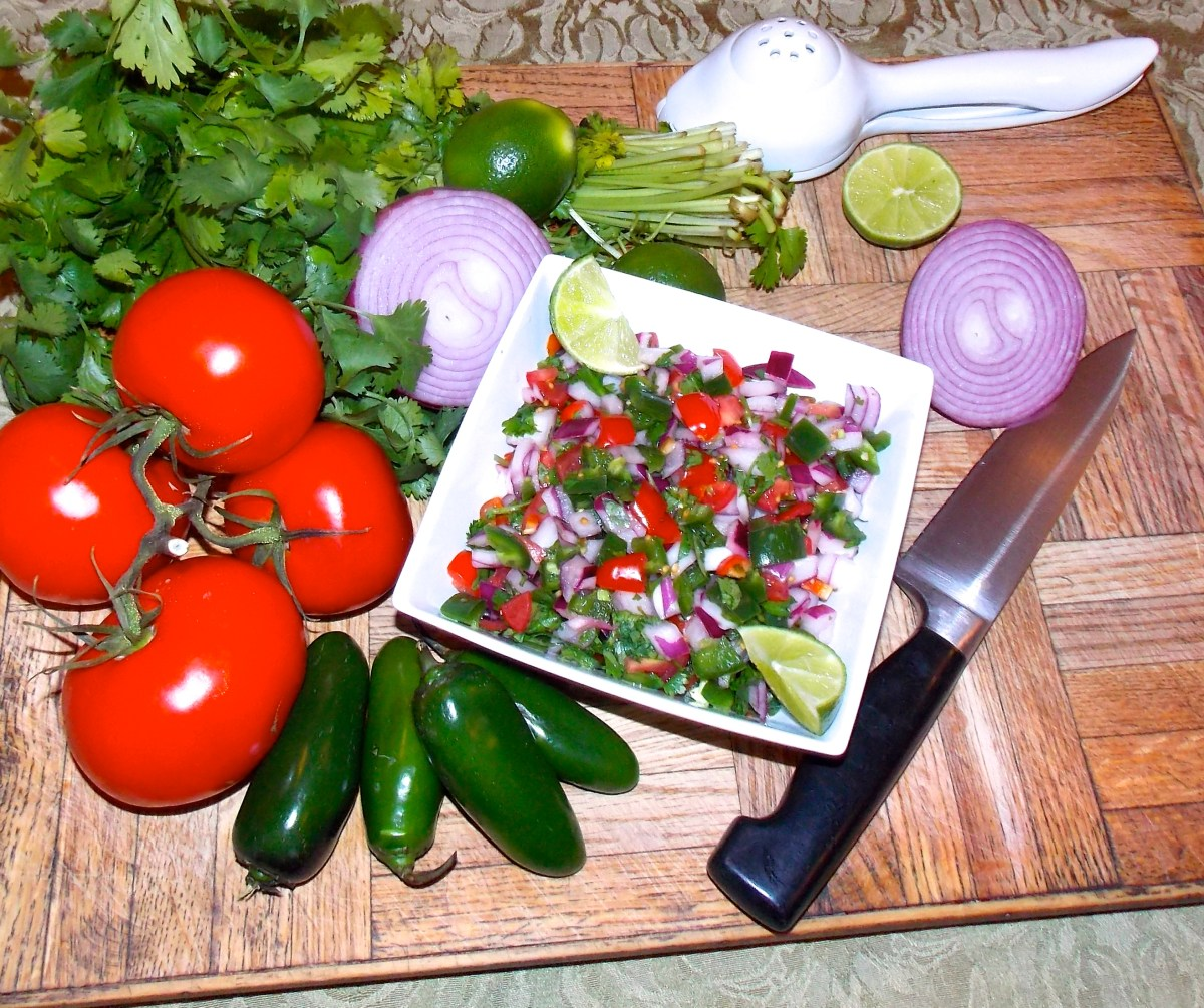 Pico de Galla and ingredients