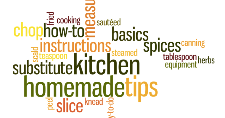 Kitchen RAP:  Read, Assemble, Prep