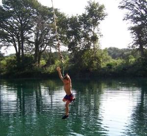 Rio Frio Rope Swing - Thomas