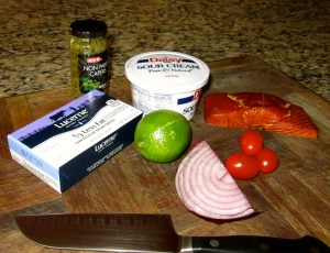 Salmon Spread Ingredients2