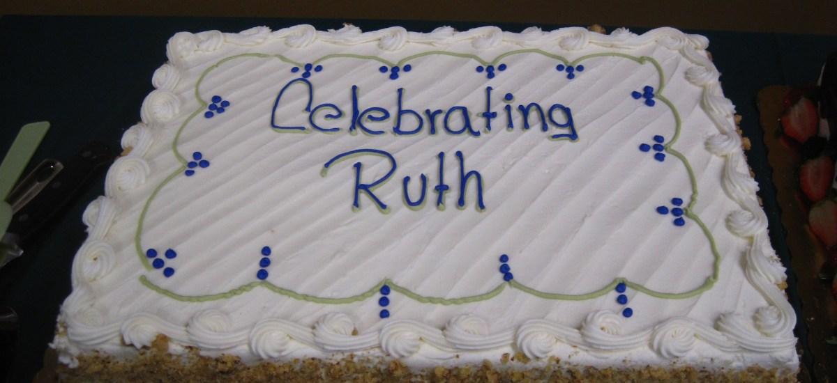 Celebrating Ruth's 95 Years