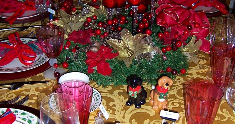 Setting a Beautiful Table – Whimsical Christmas