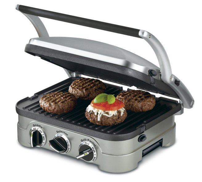 The Cuisinart panini press is perfect for the Grill-Meister's sandwich Wednesday magic-making.