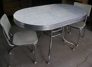 Cracked Ice Vintage Formica Table