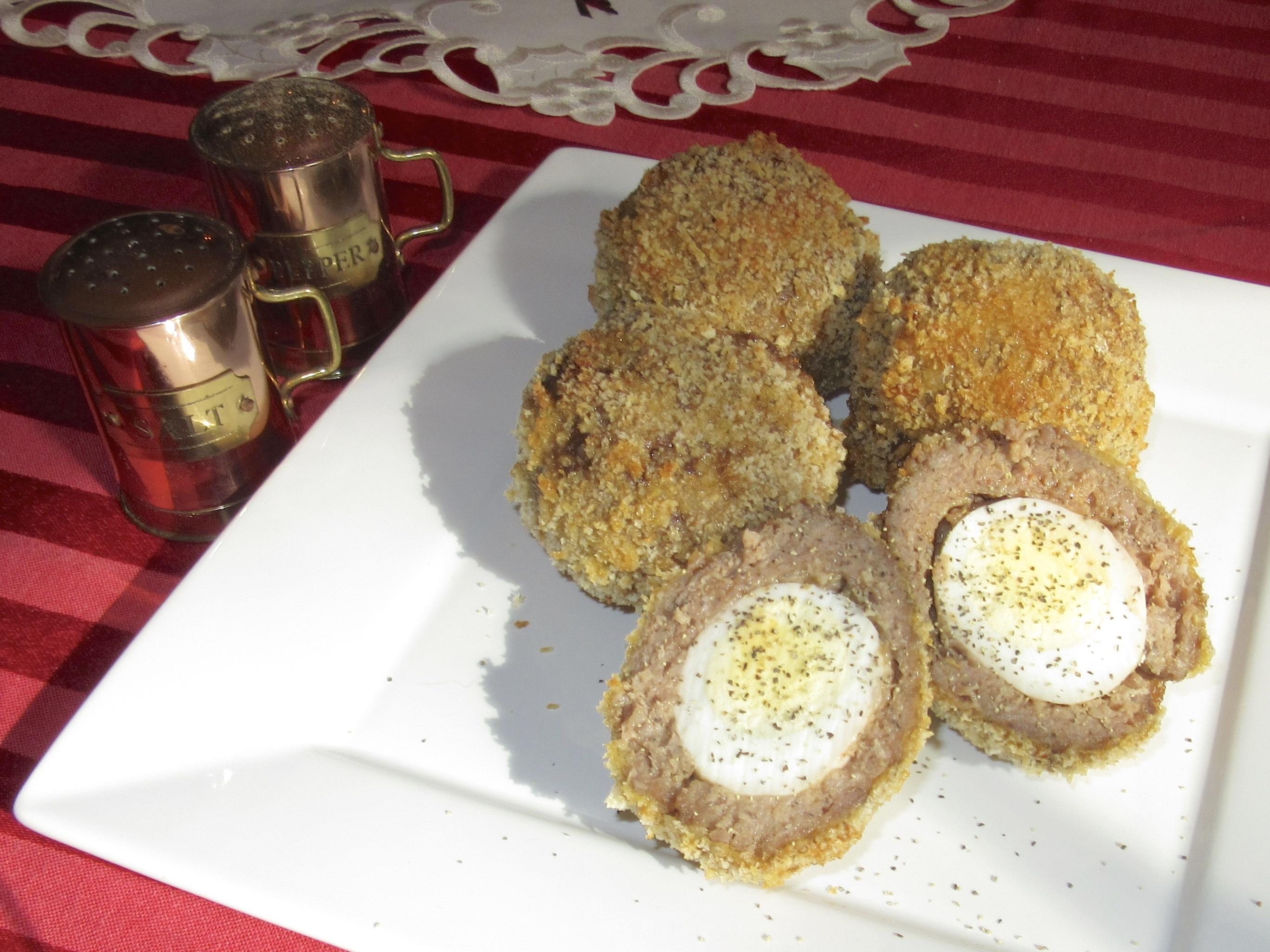 Found (and edited) Recipe:  Scotch Eggs