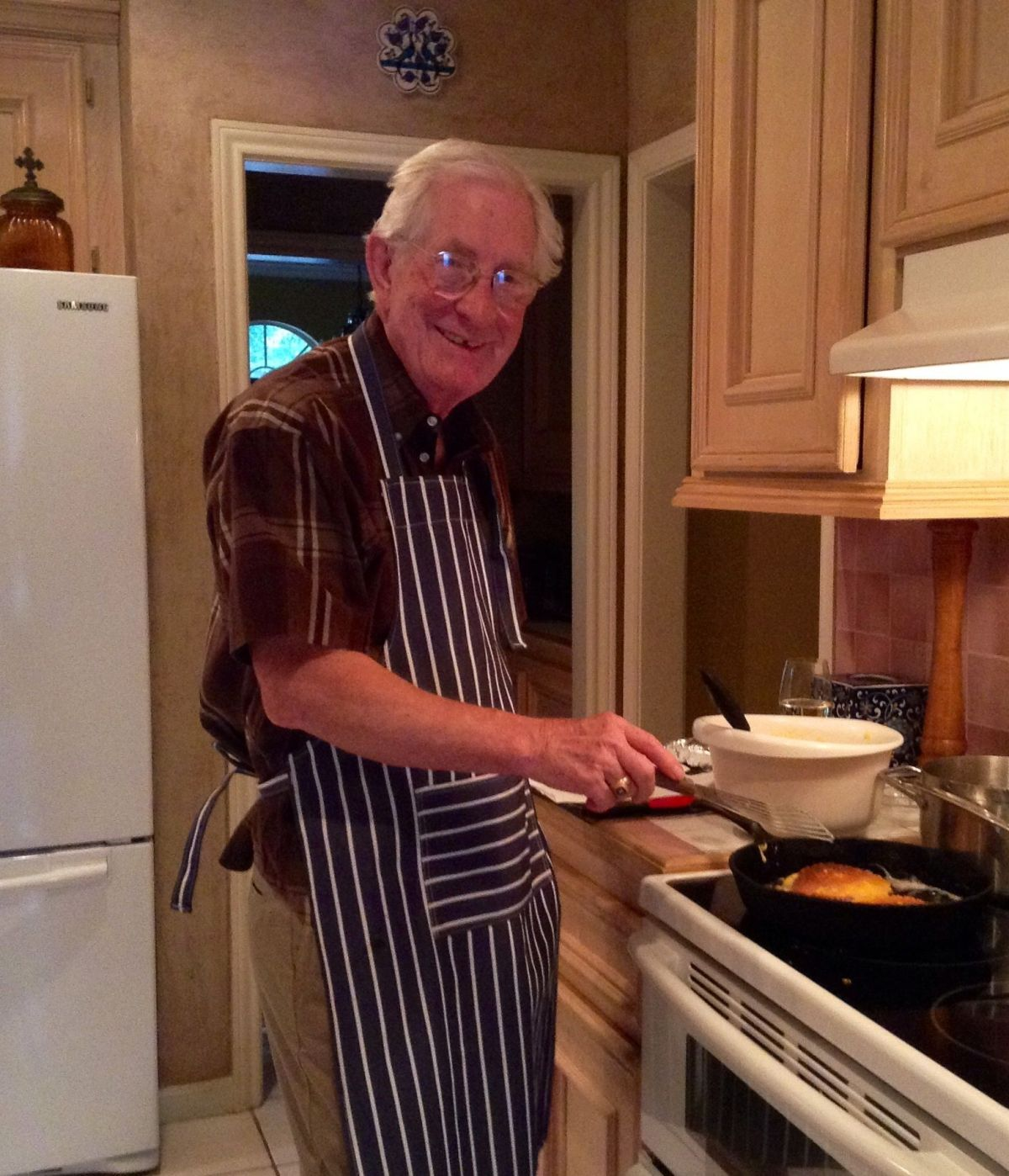Dad at the Stove