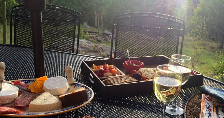 Timeless Classic:  Fruit, Cheese and Wine