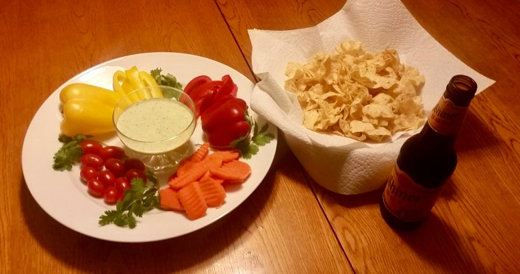 Creamy Jalapeño Dip, AKA Stephanie's Green Dip – Great for Game Day