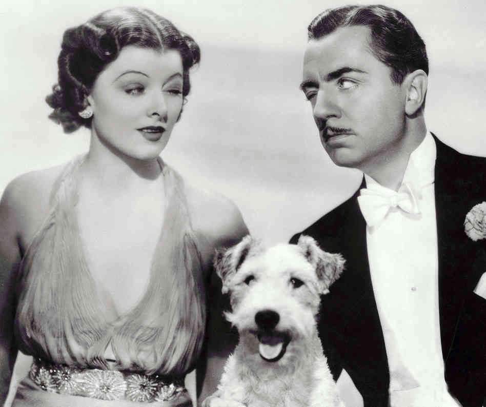 Baking with Myrna Loy and William Powell