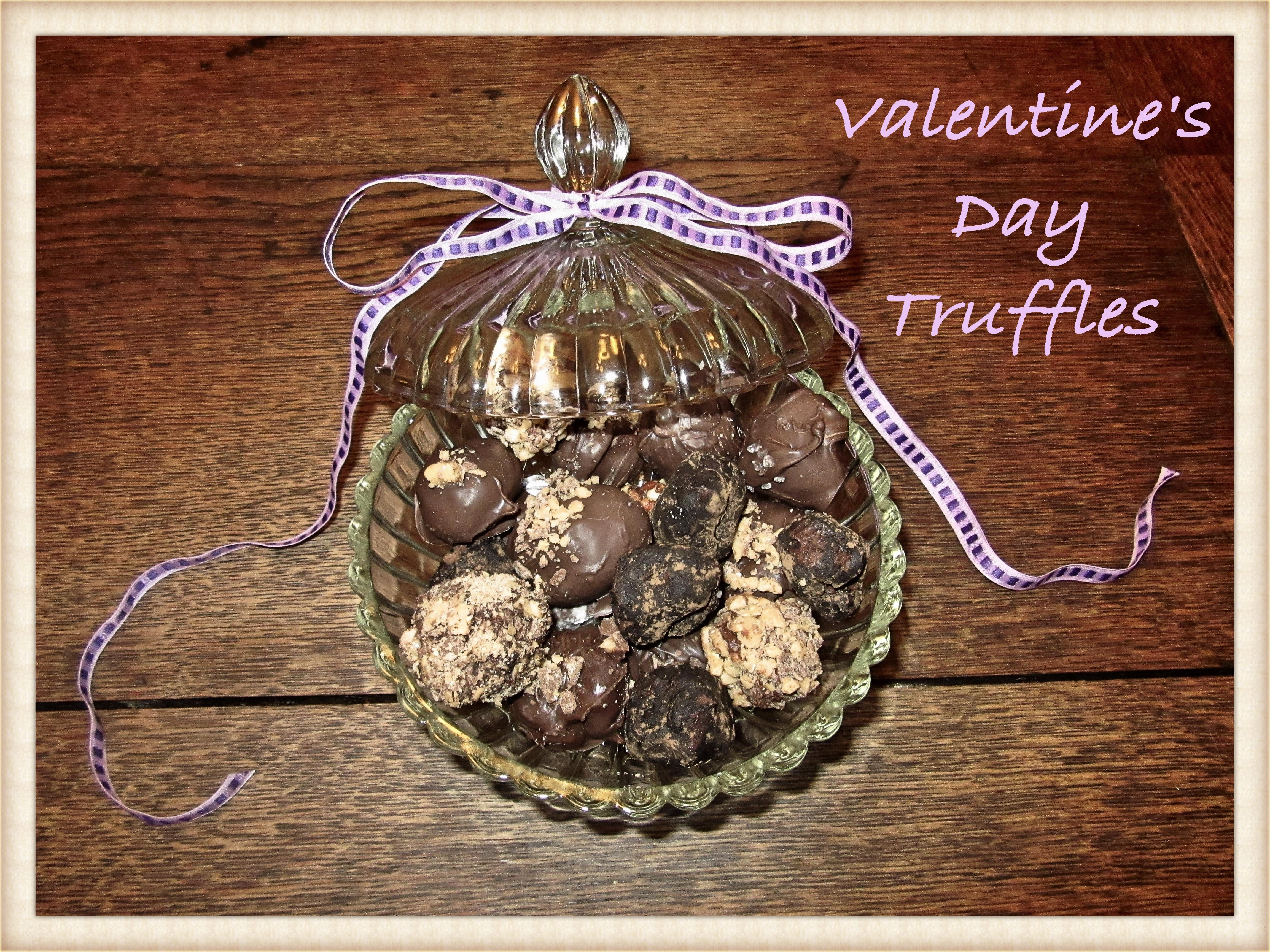 Valentine's Day Truffles á L'Orange