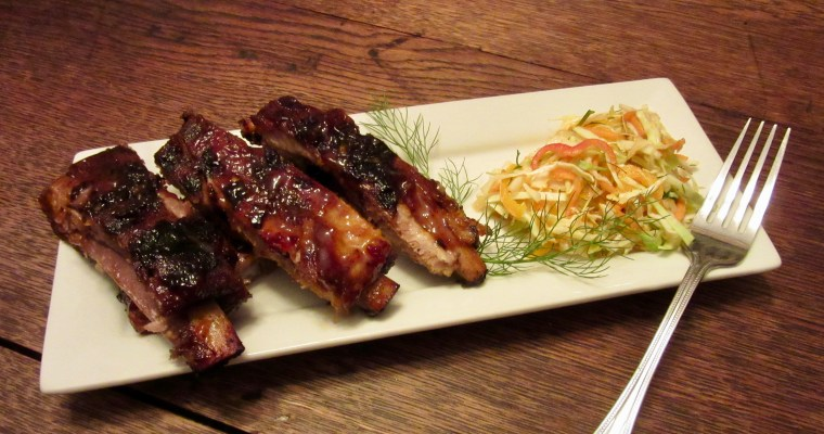 Spicy-Sweet Honey Chipotle Pork Spareribs