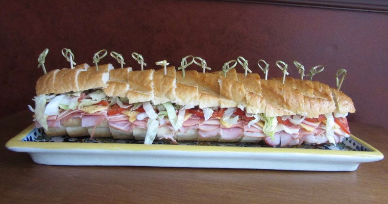 Big Food for Good Times:  The U-Boat Sub