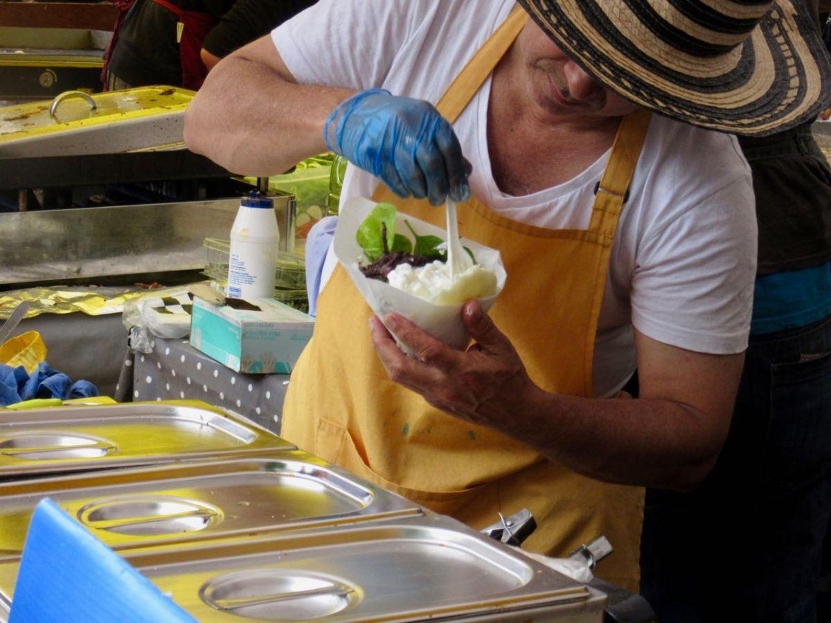 Arepas Vendor in Edinburgh