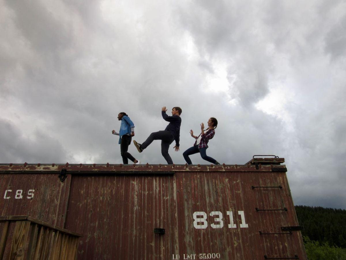 Trio on the Train 2