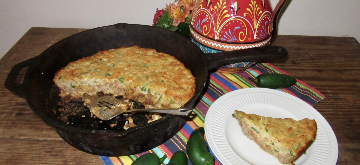 Comfort Food Alert: Mary's Magical Mexican Cornbread