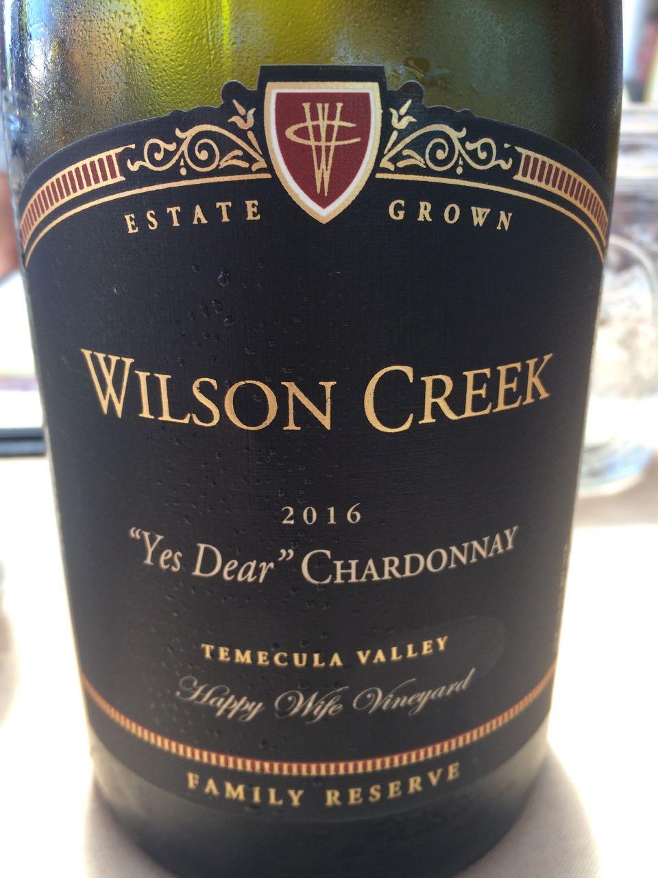 Yes Dear Chardonnay