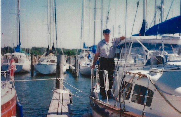Water, Wind and Land: Metaphors for a Geophysicist (remembrance for Grandpa on his 98th birthday)