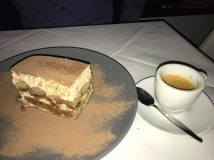 Tiramisu and Espresso