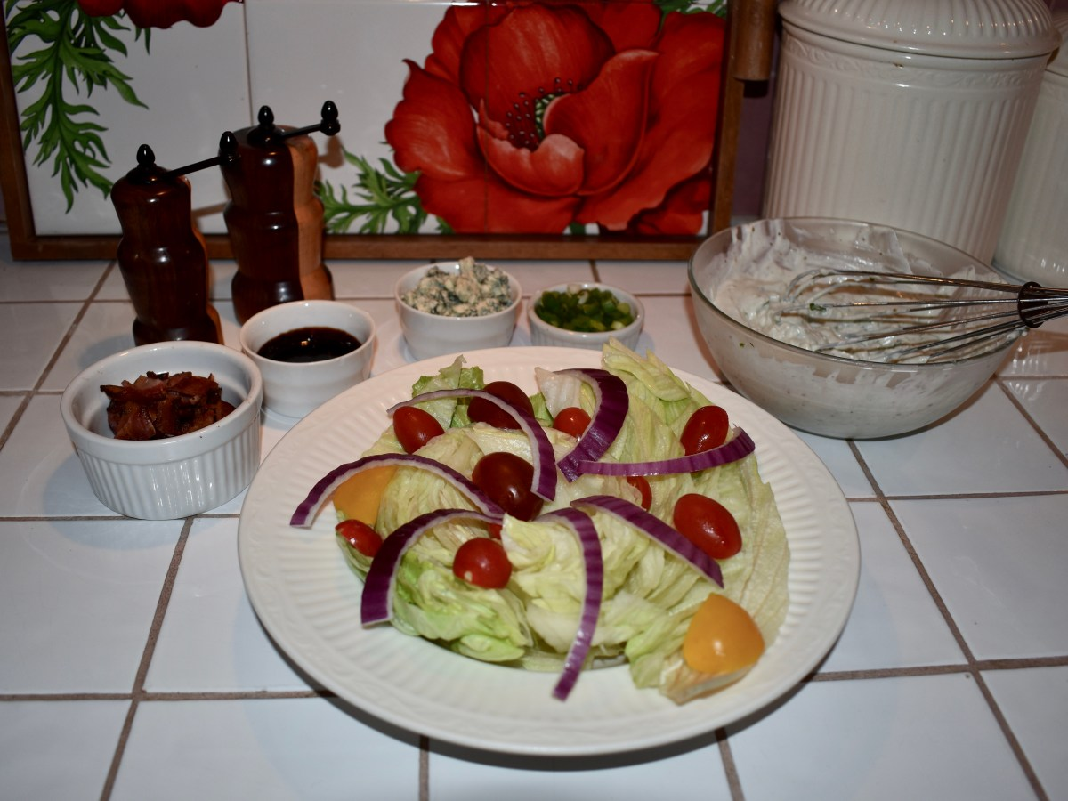 "Glover Gardens ""Wedge"" Salad"