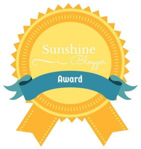 Sunshine Blogger Nominations and Q&A