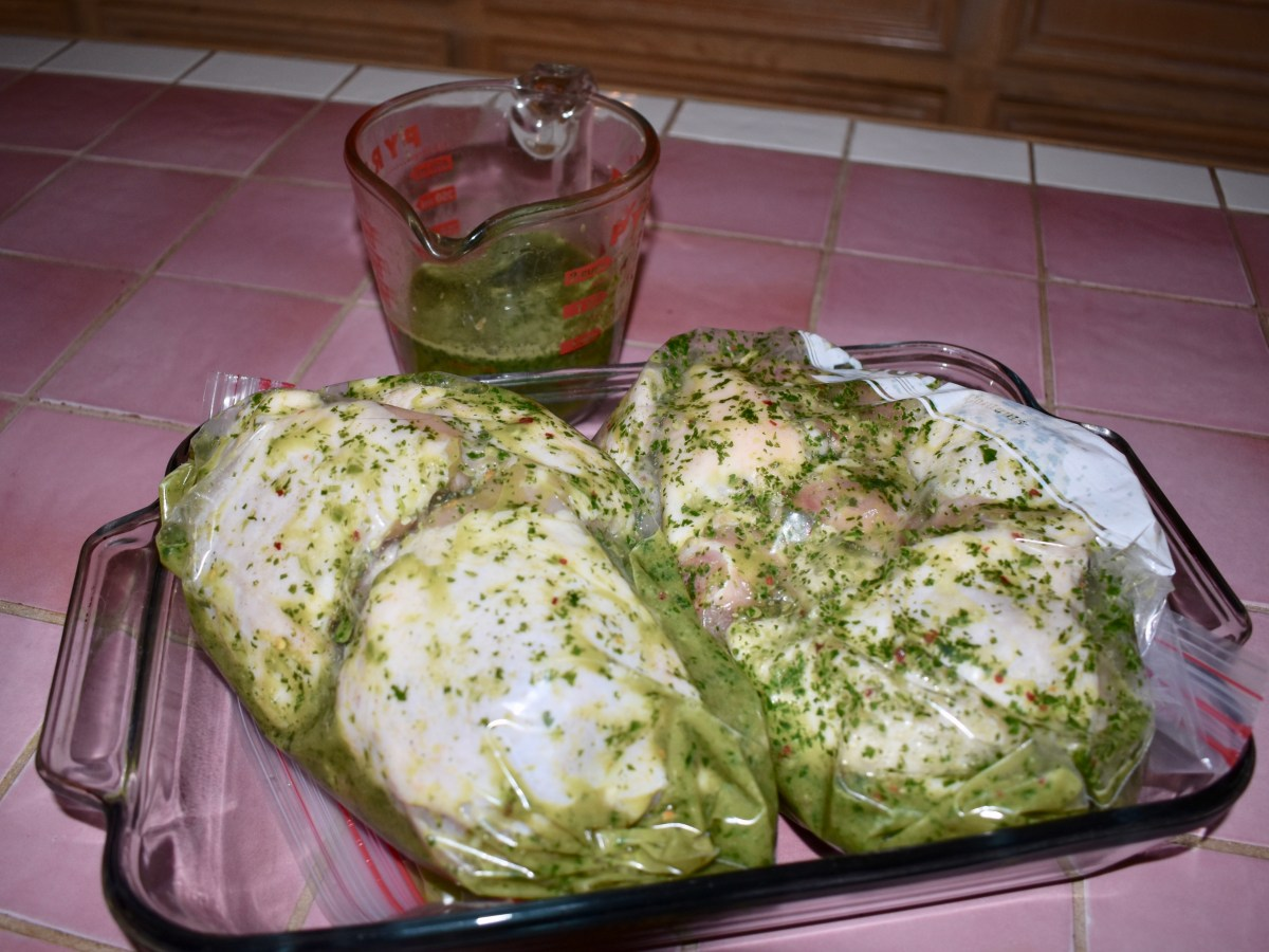 Chicken Marinading