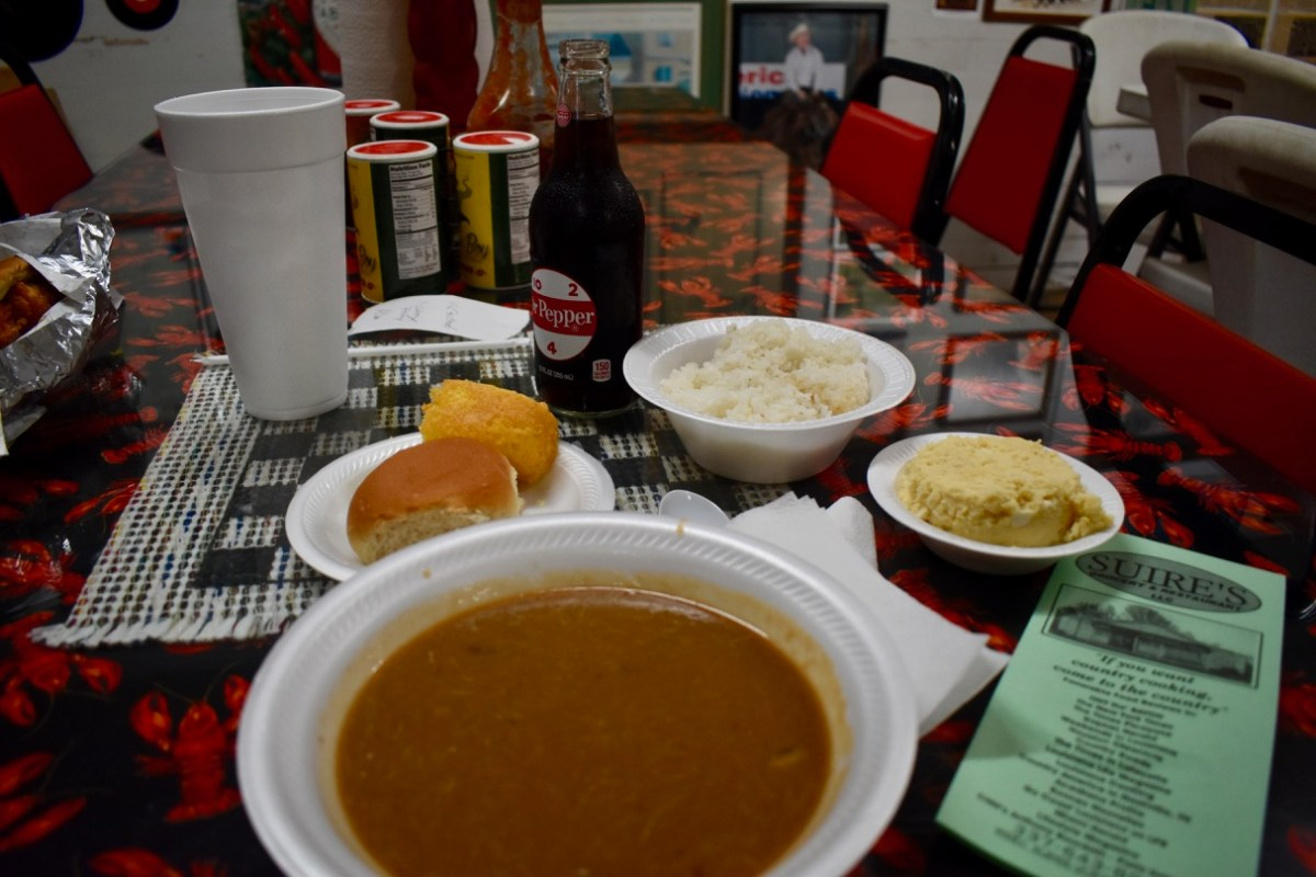 Gumbo Plate at Suire's