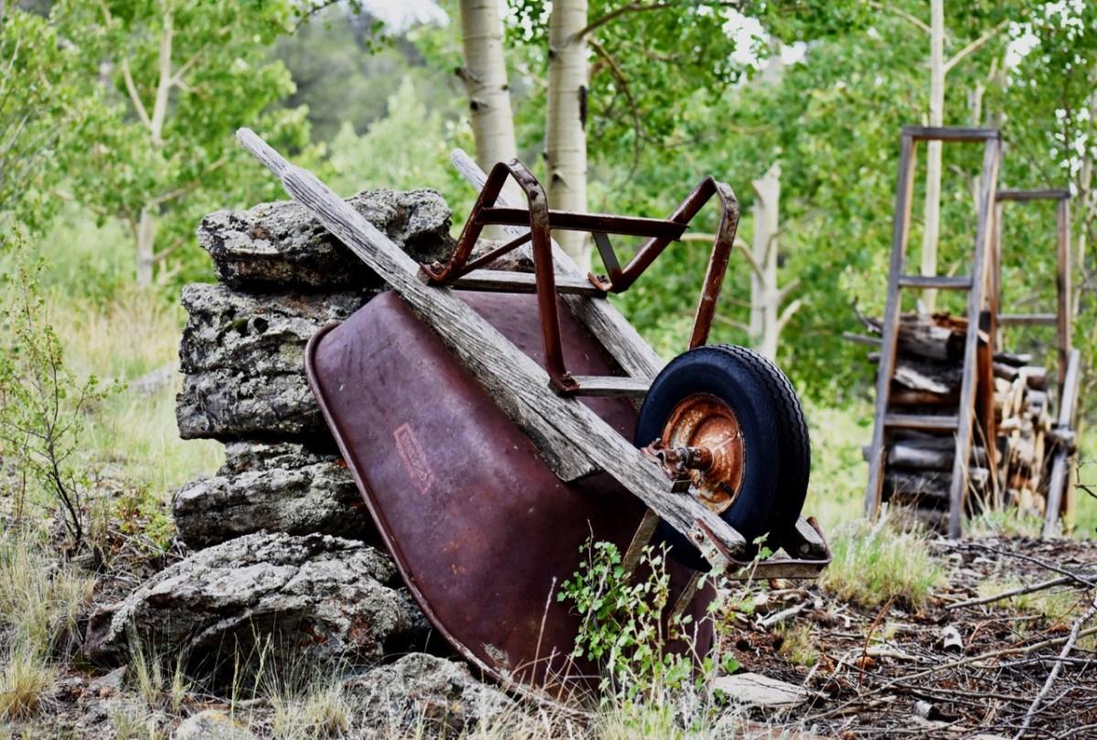 Wheelbarrow in Color