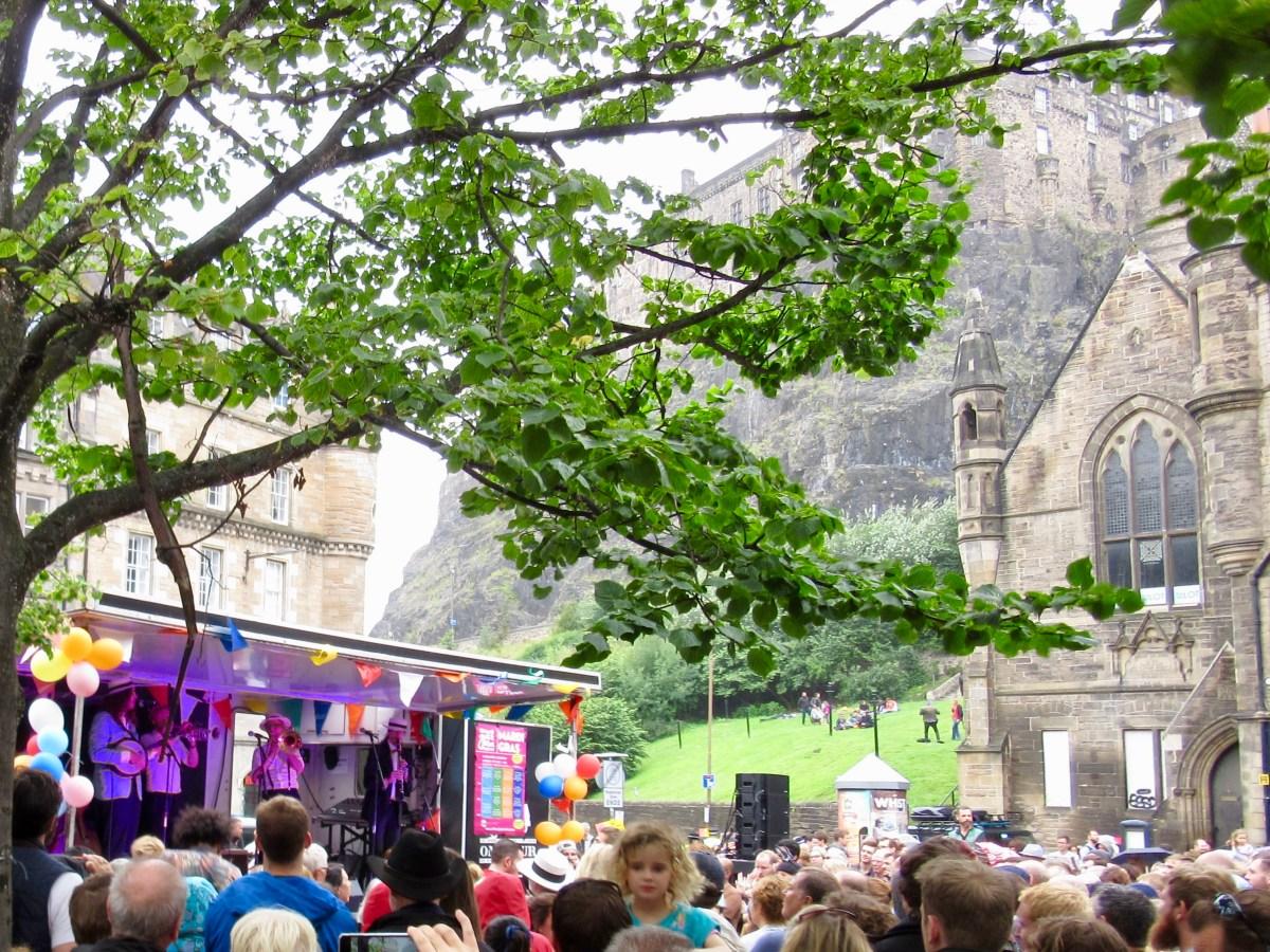 Festival in the Shadow of Edinburgh Castle