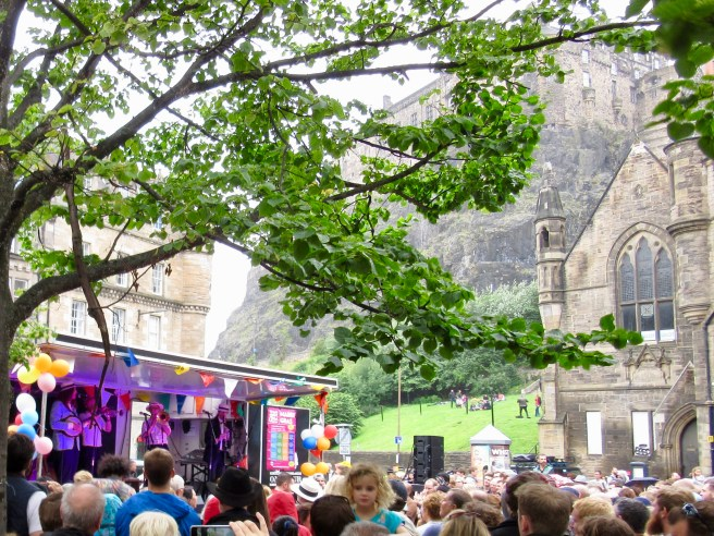 Festival in the Shadow of Edinburgh Castle
