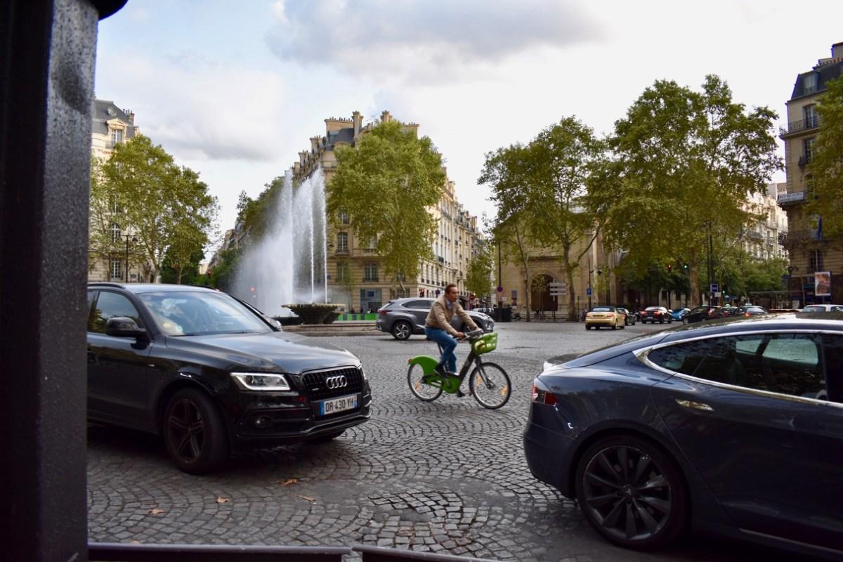 Brave Bicyclist