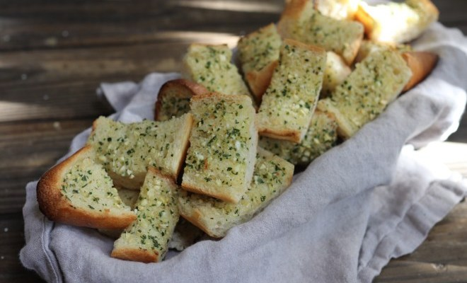Found Recipe: Garlic Herb Butter French Bread