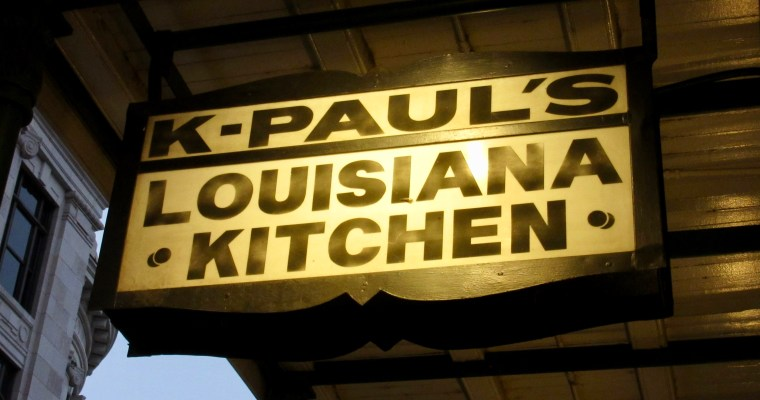 Finally, a Trip to K-Paul's in New Orleans