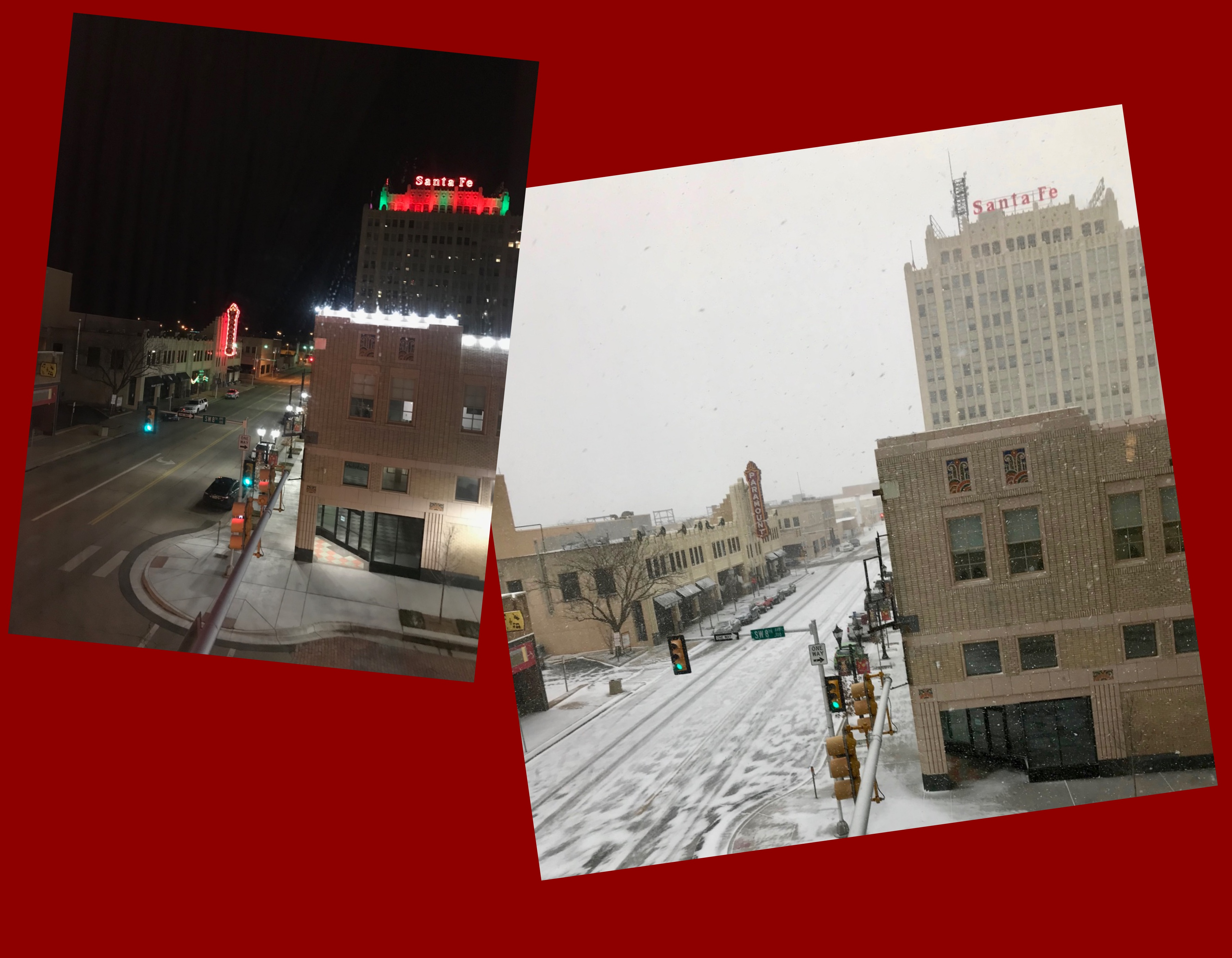 Haiku: Amarillo by Night and Morning