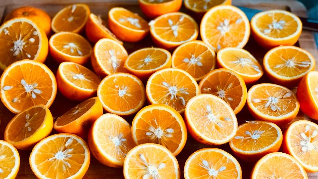 Juicy oranges