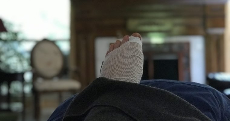 2019 Foot Surgery, Round Deux