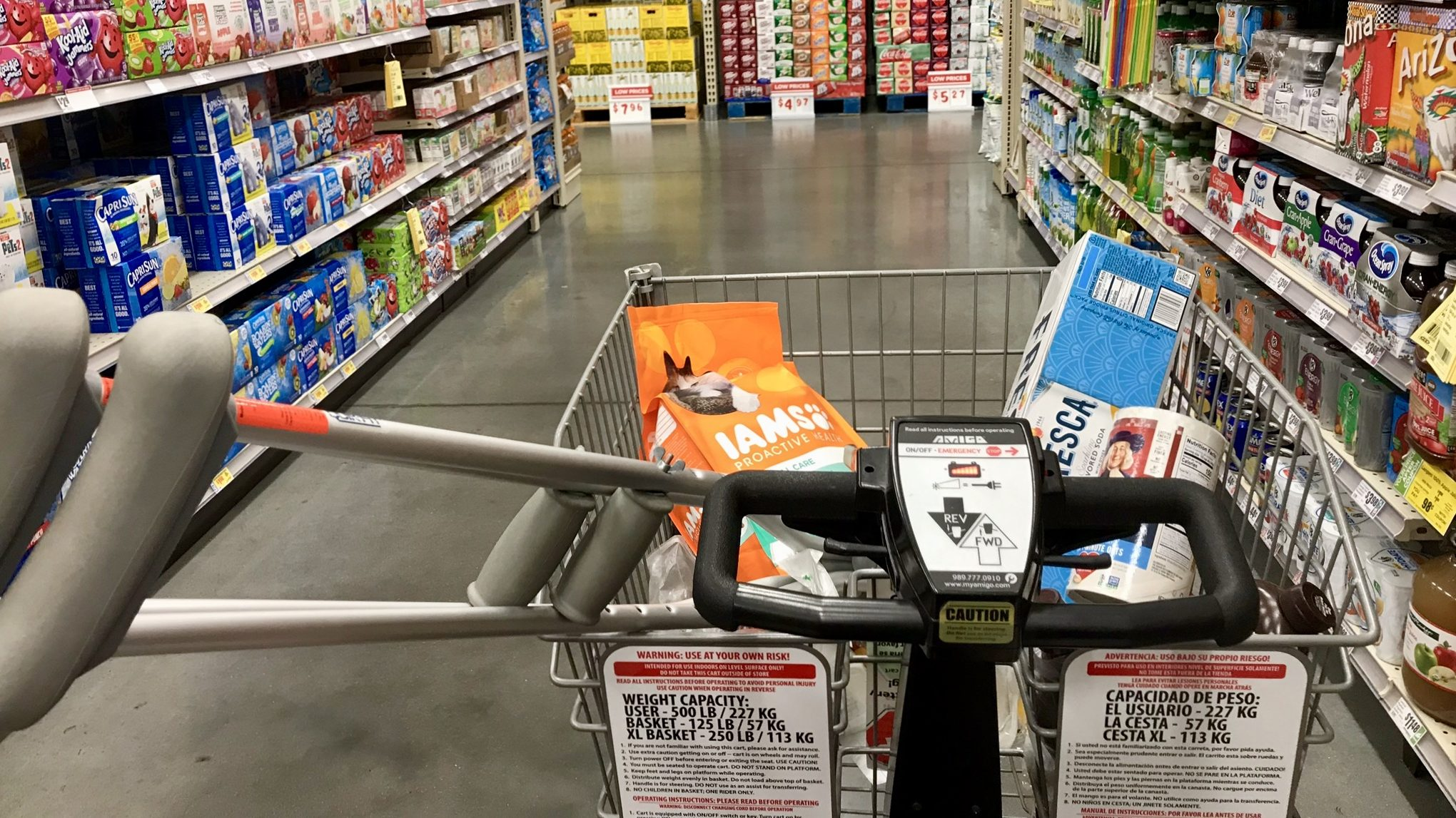 Hell on Wheels – My Trip to the Grocery Store While One-Legged