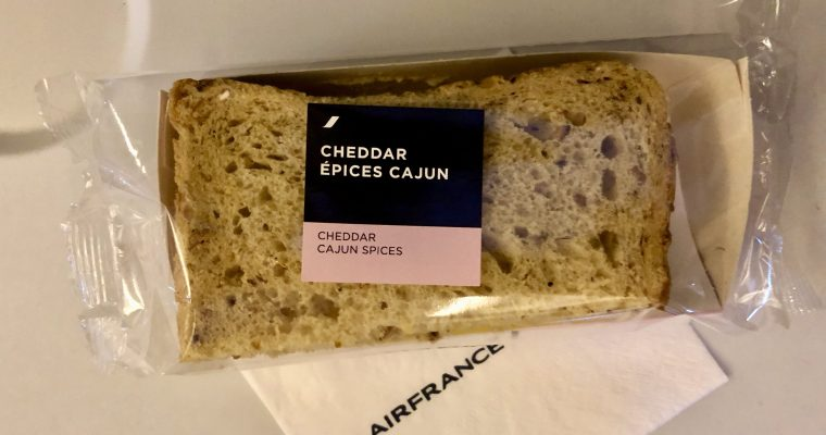 Another Strange In-Flight Sandwich: Someone has a Sense of Humor