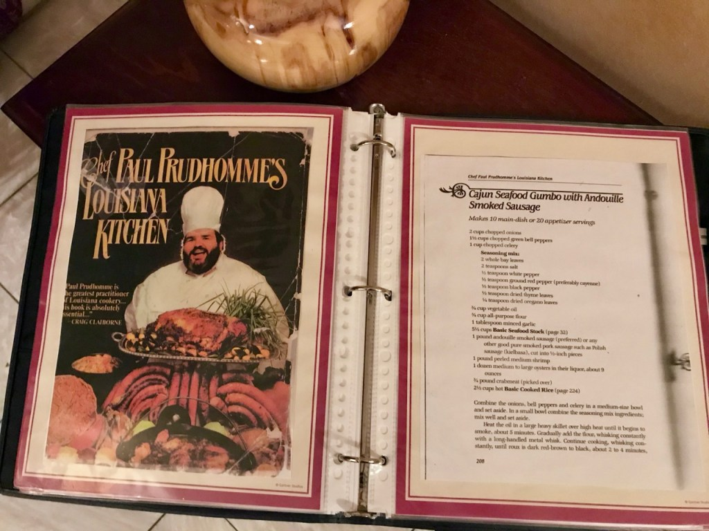 Paul Prudhomme's Cookbook