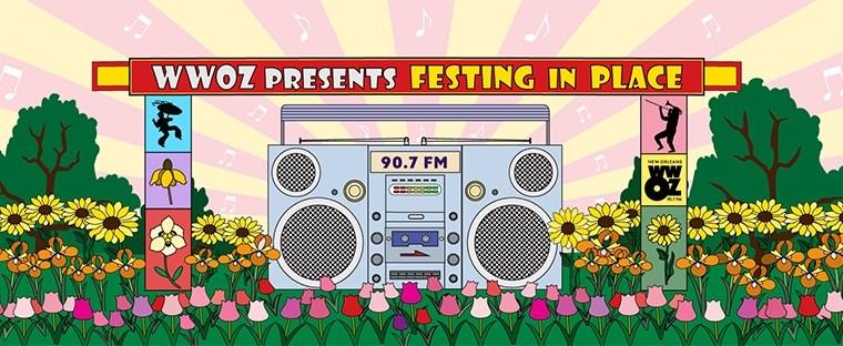 """WWOZ's """"Festing in Place"""", an Alternative Way to Celebrate the NOLA Jazz Fest"""