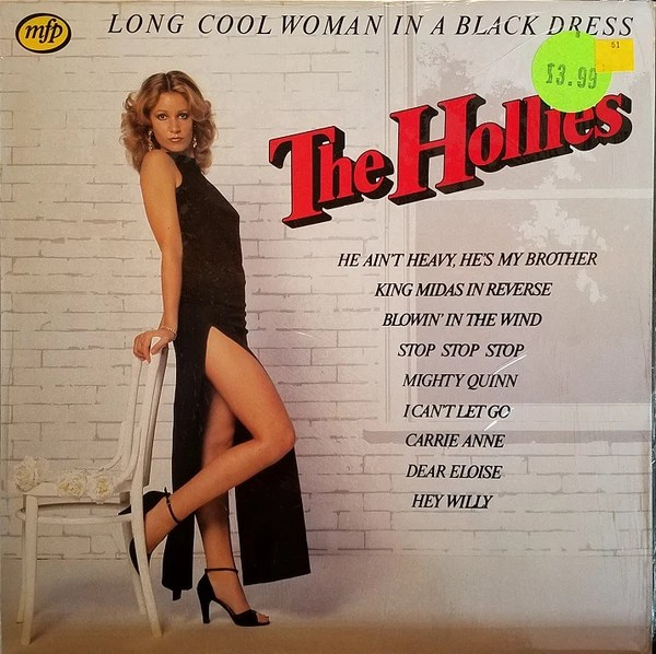 The Hollies Long Cool Woman in a Black Dress cover