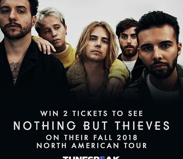 Nothing But Thieves is going on third year from their debut.