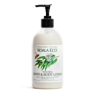 Koala Eco Hand and Body Lotion Lemon scented Eucalyptus and Rosemary from Gloves and Sanitisers