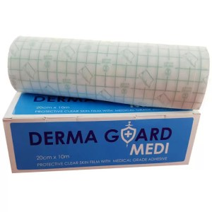 Dermaguard Skin Film by Gloves and Sanitisers